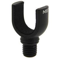 Butt grip aluminiowy 16mm czarny Smoke NGT Profiler